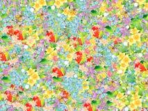 Bei disegni floreali Immagini Stock