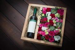 Bei e fiori delicati Immagini Stock Libere da Diritti