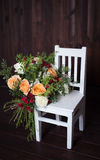 Bei e fiori delicati Fotografie Stock Libere da Diritti