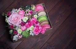 Bei e fiori delicati Immagini Stock