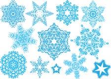 Bei fiocchi di neve Immagine Stock