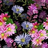 bei fiori di autunno illustrazione vettoriale