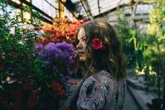 Bei fiori nel mio giardino Fotografie Stock Libere da Diritti