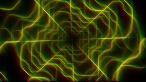 Bei fondo e linea astratti 3d video d archivio
