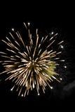 Bei fuochi d'artificio Fotografia Stock Libera da Diritti