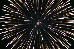 Bei fuochi d'artificio variopinti di festa Immagine Stock