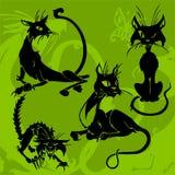 Bei gatti. illustrazione di stock
