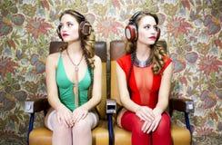 Bei gemelli della discoteca Fotografia Stock
