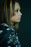 bei giovani del ritratto della ragazza immagini stock