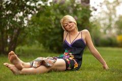 bei giovani della donna Fotografia Stock