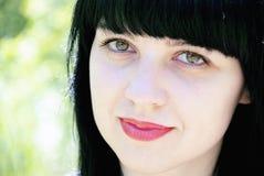bei giovani della donna del ritratto Fotografia Stock Libera da Diritti