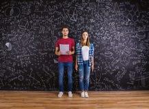 Bei giovani studenti Fotografia Stock Libera da Diritti