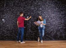 Bei giovani studenti Immagini Stock
