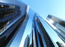 Bei grattacieli Fotografia Stock
