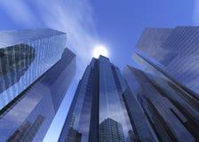 Bei grattacieli Immagine Stock