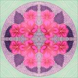 Modelli della piastrella di ceramica fotografia stock - Modello di base del fiore ...
