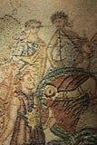 Bei mosaici esibiti nel museo archeologico nazionale di Lisbona immagini stock