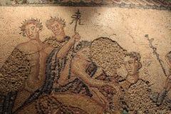 Bei mosaici esibiti nel museo archeologico nazionale di Lisbona fotografia stock