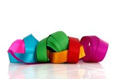 Bei nastri colorati Immagini Stock Libere da Diritti