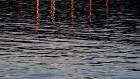 Bei natura dell'acqua di mare e concetto di festa archivi video