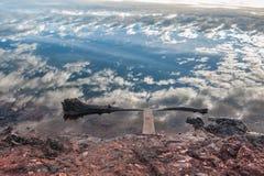 Bei nubi e cielo fotografia stock libera da diritti