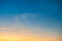 Bei nubi e cielo blu fotografia stock libera da diritti