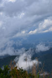 Bei nuvole e cielo della carta da parati Fotografie Stock Libere da Diritti