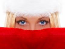 Bei occhi azzurri Fotografia Stock Libera da Diritti