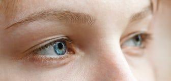 Bei occhi femminili Fotografie Stock Libere da Diritti