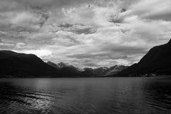 Bei Ondalsnes, Vestlandet, Norvegia di Isfjord immagini stock libere da diritti