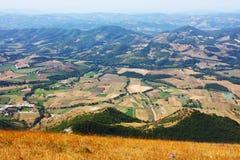 Bei paesaggi del contenuto montagne Fotografia Stock