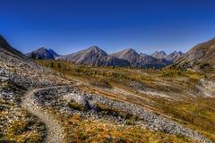 Bei paesaggi della montagna in autunno Fotografia Stock