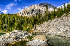 Bei paesaggi della montagna di caduta Immagine Stock Libera da Diritti