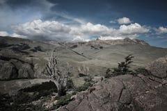 Bei paesaggi nella Patagonia immagine stock libera da diritti