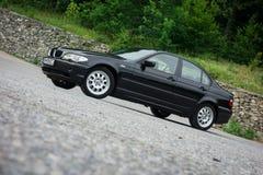 Bei paing e origi metallici neri automobilistici storici bavaresi Fotografia Stock