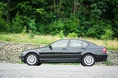 Bei paing e origi metallici neri automobilistici storici bavaresi Fotografia Stock Libera da Diritti