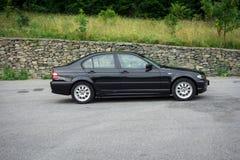 Bei paing e origi metallici neri automobilistici storici bavaresi Fotografie Stock Libere da Diritti
