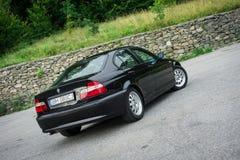 Bei paing e origi metallici neri automobilistici storici bavaresi Fotografie Stock