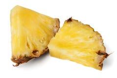 Bei pezzi dell'ananas immagine stock libera da diritti