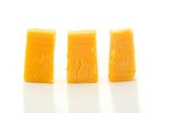 Bei pezzi di formaggio. Immagine Stock Libera da Diritti