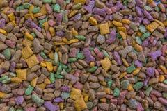 Bei pezzi freschi dell'alimento di gatto Fotografia Stock Libera da Diritti