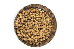 Bei pezzi freschi dell'alimento di gatto Immagini Stock Libere da Diritti
