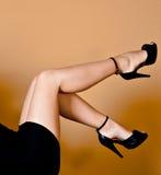 Bei piedini femminili fotografie stock libere da diritti