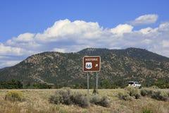 Bei Route 66 Lizenzfreies Stockfoto
