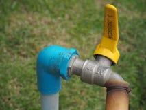 Bei rubinetti di acqua Fotografia Stock