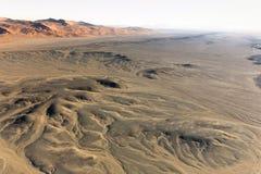 Bei Sossusvlei im Ballon aufsteigen, Namibia stockfoto