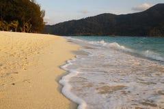 Bei spiaggia e mare Fotografia Stock