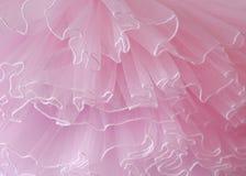 Bei strati del fondo rosa delicato del tessuto Fotografia Stock Libera da Diritti