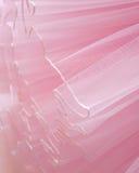 Bei strati del fondo rosa delicato del tessuto Immagini Stock Libere da Diritti