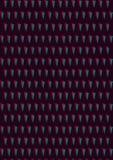 Bei triangoli astratti geometrici di colore su fondo nero royalty illustrazione gratis